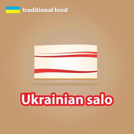 schmalz: traditionelle ukrainische K�che - Ukrainian Schmalz (Salo).