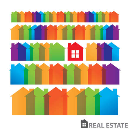 Rental housing. Home sales. Property. Real Estate. vector Stock Vector - 20865319