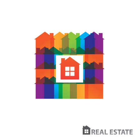 art blog: Rental housing. Home sales. Property. Real Estate. vector