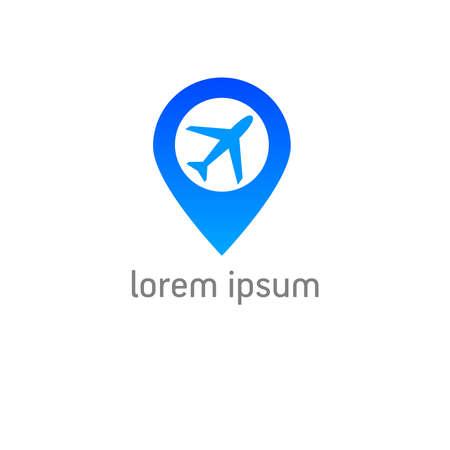 foursquare: Template airport check-in - sign design