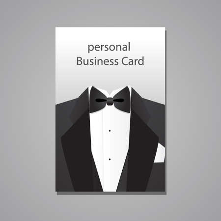 personal business card - a design template Stock Vector - 21502117