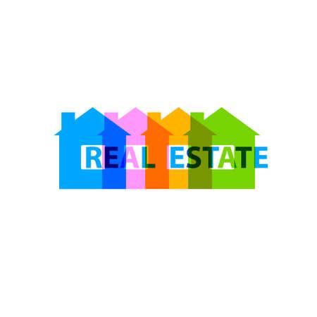 Real estate design concept Stock Vector - 30350412