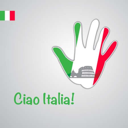 italia: Template - ciao Italia.