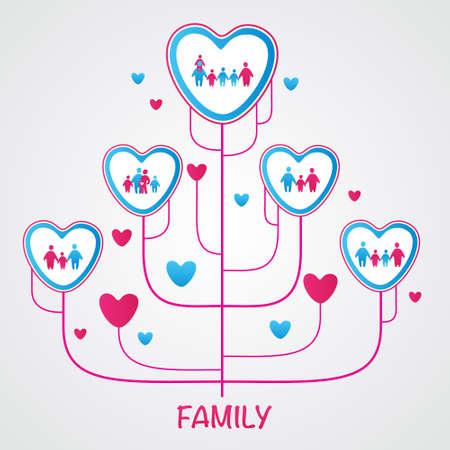 family: family tree - template