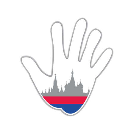 moscow: Symbol of the city Moscow. The idea for the design