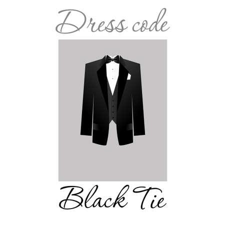 Código de vestimenta. Opciones. Vector. Ilustración de vector