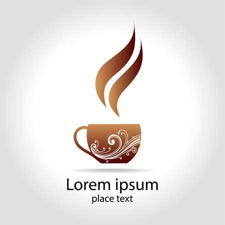 vigor: Coffee - design template logo