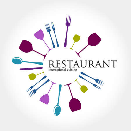 restaurant sign: Restaurant  - idea for the sign  label