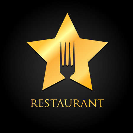 vip badge: Restaurant  - idea for the sign  label element