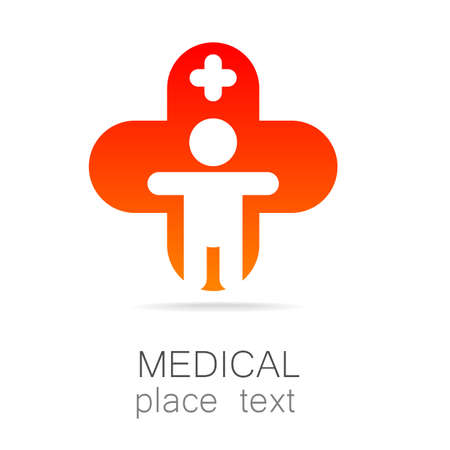 hospital sign: Medical logo - the concept for sign a medical institution, a center, foundation, organization, association, hospital.