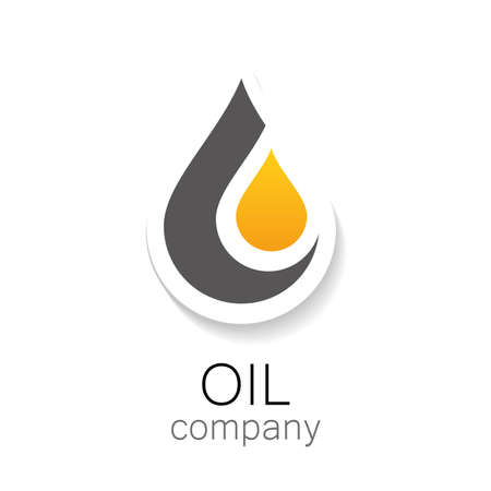 Chemical and oil industries. Logo Design. Çizim