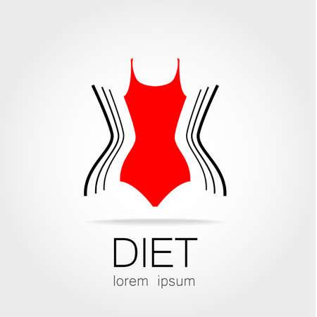 Weiblich Sportarten. Template-Logo. Fitness, Turnhalle, Gesundheit ...