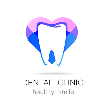 tooth: Dental Clinic - template logo.