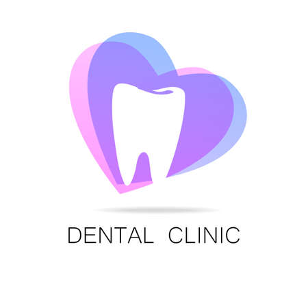 stomatology icon: Dental Clinic - template logo.