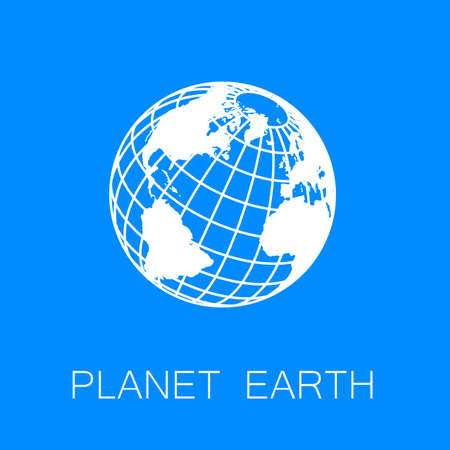 nature logo: Sign of the Earth. Template logo for the company, association, foundation, union.