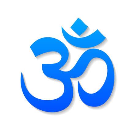 Om - teken, symbool, pictogram