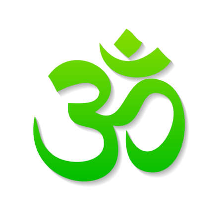 oriental medicine: Om - sign, symbol, icon