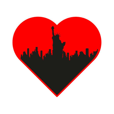I love new york template vector by antoshkaforever - Image ...