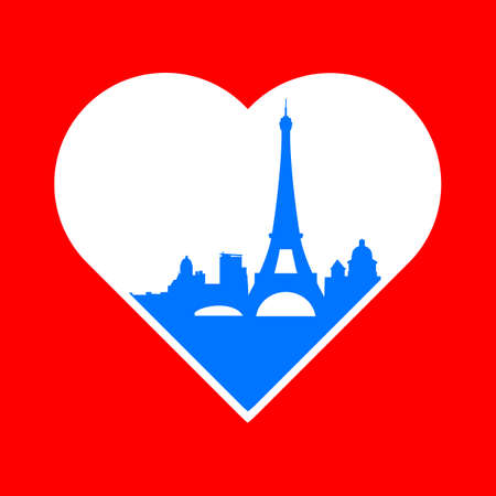 paris: I love Paris - the template for the sign. The idea for the label design, printing on clothing, decor souvenirs.