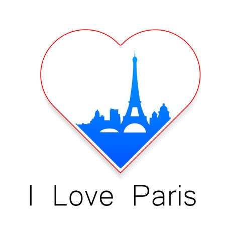 i love paris: I love Paris - the template for the sign. The idea for the label design, printing on clothing, decor souvenirs.