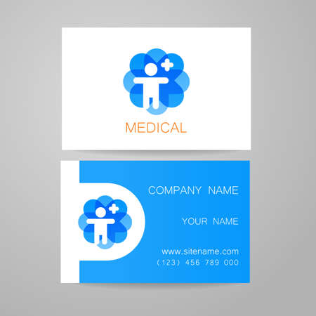 Template of medical business cards royalty free cliparts vectors template of medical business cards royalty free cliparts vectors and stock illustration image 44647873 accmission Images