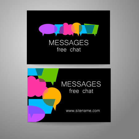 blog design: Messages - logo. The idea for the design of the mark. Logo for chat, social networking site, a Foreign Language School, email correspondence, and others.