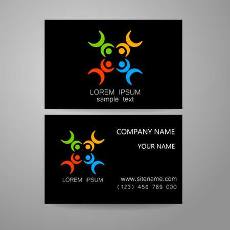 social networking: Connection - il marchio della mascherina. Firma la connessione, la comunicazione, social networking, di associazione e di unione. L'idea per la progettazione della corporate identity.