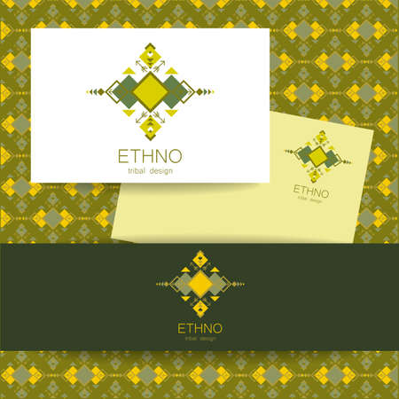 ethno: Ethno - corporate identity. Template design