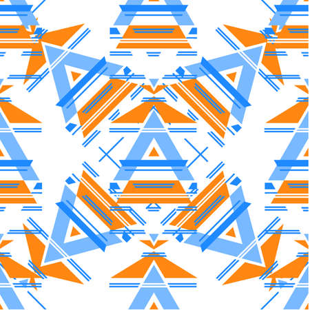 basis: Ethnic pattern. Template design seamless pattern. The basis of the pattern - a geometric element.