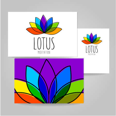 meditation room: Lotus Meditation - sign design template. meditation room, yoga studio, a spa center etc..