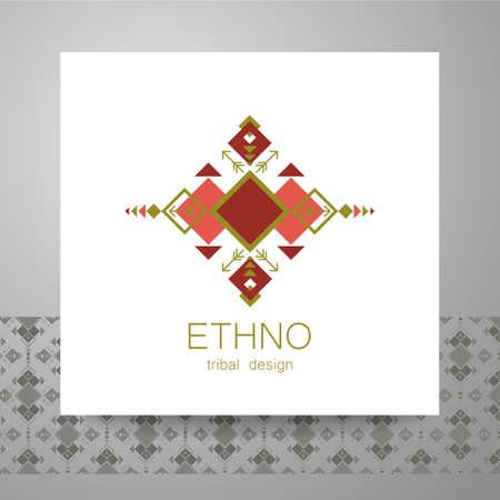ethno: Ethno - corporate identity. Template design