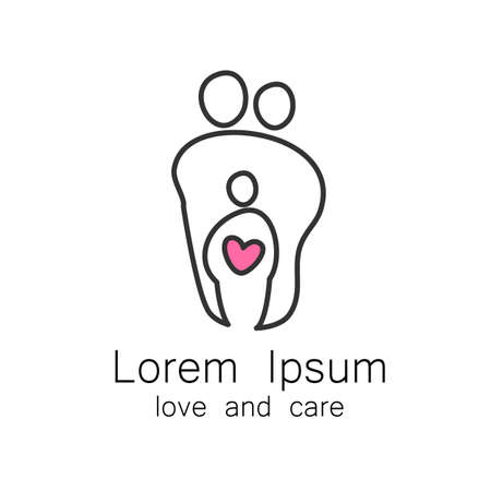 parental love: Parental love -  and icon template