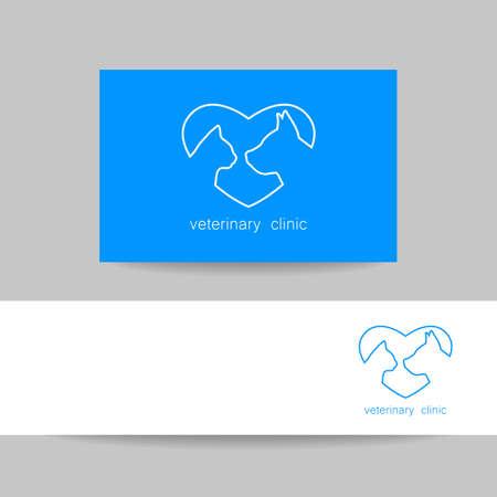 veterinary medicine: Veterinary medicine logo design template. Veterinary logo, veterinarian,  veterinary clinic, vet.