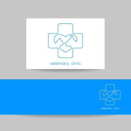 veterinary care: Veterinary medicine design template.