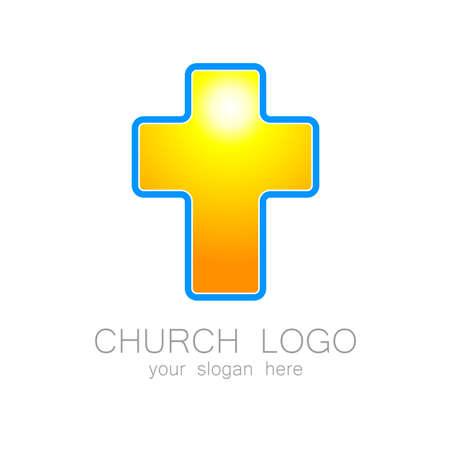 hoping: Church logo -  vector design template. Template logo for churches and Christian or organizations. Church name, church icon,  christian logo,  religion logo.