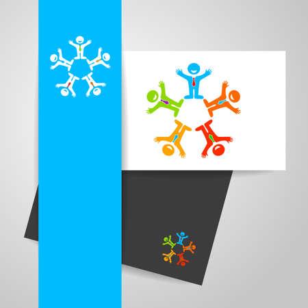 media network: Social media network people  . Teamwork  . Vector illustration. Illustration