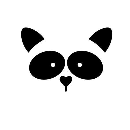 racoon: Raccoon. Raccoon  . Isolated raccoon head on white background. Raccoon mascot idea