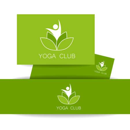 health spa: Vector design template. Yoga identity. Health Care, Beauty, Spa, Relax, Meditation, Nirvana concept icon.  Vector illustration for yoga studio, event, school, club, web.