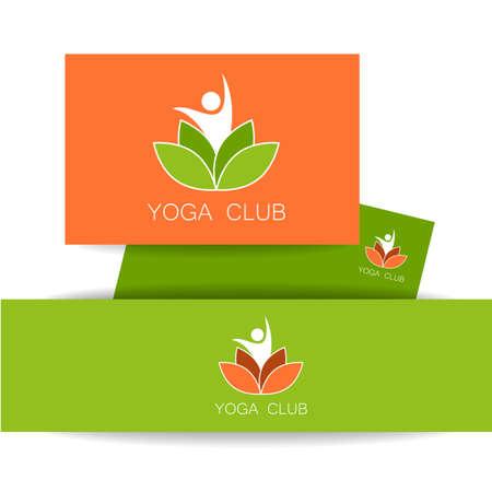 health spa: Vector design template. Health Care, Beauty, Spa, Relax, Meditation, Nirvana concept icon.  Vector illustration.