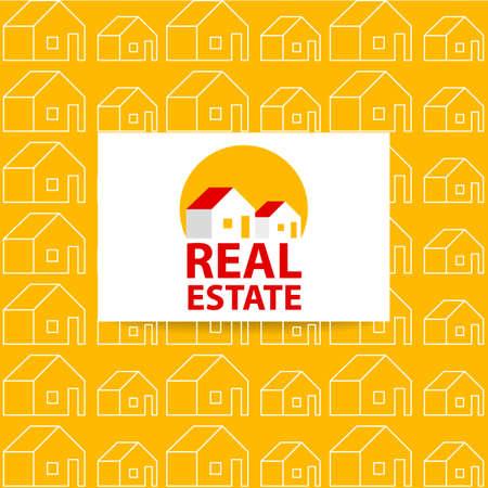 estate: Real Estate   Design. Business card. Real Estate vector   design template. Real Estate pattern. Vector illustration.
