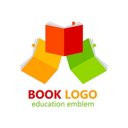 Modello di log book book book. Illustrazione vettoriale.
