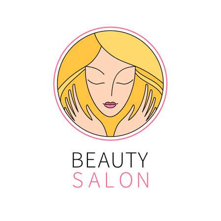 Beauty salon   template. Vector illustration. Ilustração