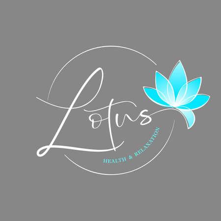 Lotus flower   design template. Nature  Vector.