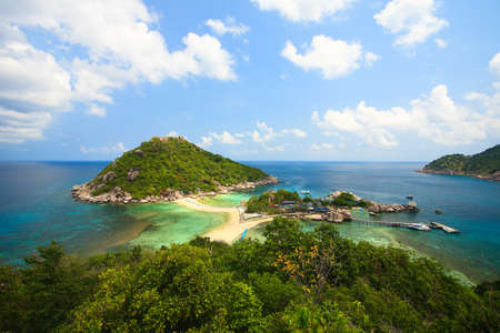 Nangyuan, Samui of Thailand Stock Photo