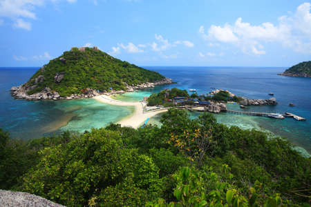 Samui-nang yuan island of Thailand photo