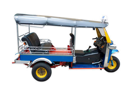 tricycle: tuktuk taxi in thailand
