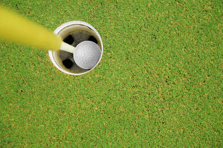 golf hole in one Stock Photo - 14330729