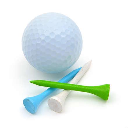 pelota de golf: Pelota de golf y Tees