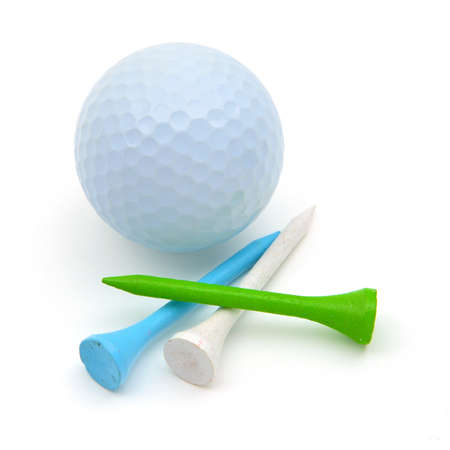 Golf ball: Pelota de golf y Tees