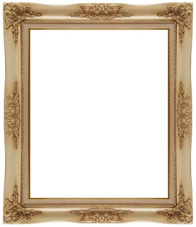 photo frame isolated on white background photo